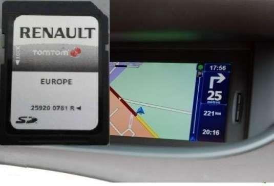 CD SD Card Harti GPS TomTom Carminat LIVE Renault Laguna Megane Scenic