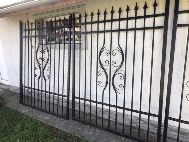 Set porti metalice, Porti fier forjat, gard