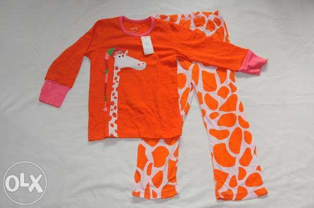 Pijama BabyGap pentru copii - Girafa, 1 an
