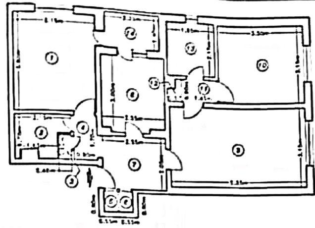 Apartament 3 camere Prevederii