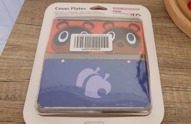 3DS Cover Plate / Faceplate Animal Crossing