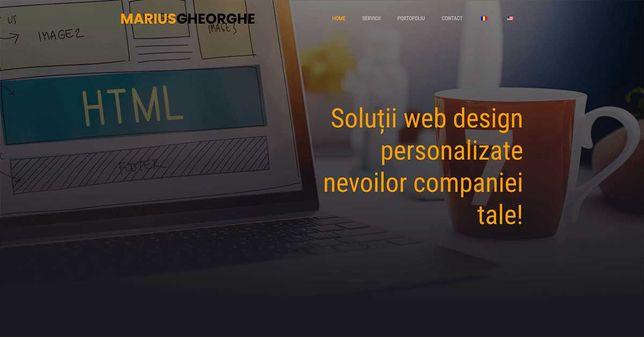 Îți dorești un site de prezentare pentru afacerea ta?