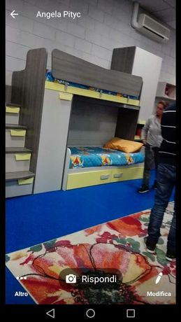 Dormitor copii Castelo cu montaj inclus