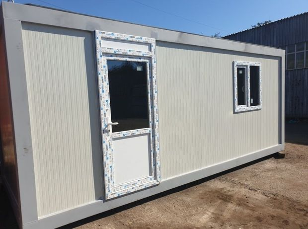 Container standard birou monobloc vitrina de locuit de dormit santier