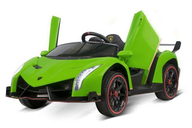 Masinuta electrica Lamborghini Veneno 180W 12V PREMIUM #Verde