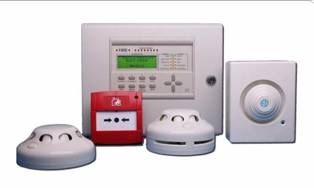 Пожарная, охранная сигнализация, видеонаблюдение, тех обслуживание