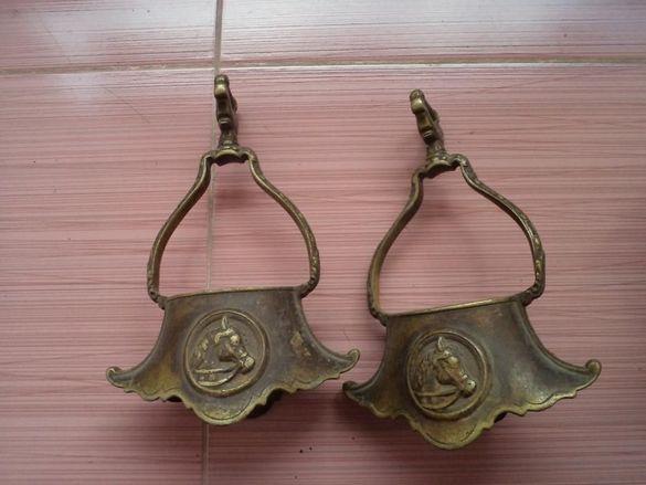 Стремена шпори бронзови автентични