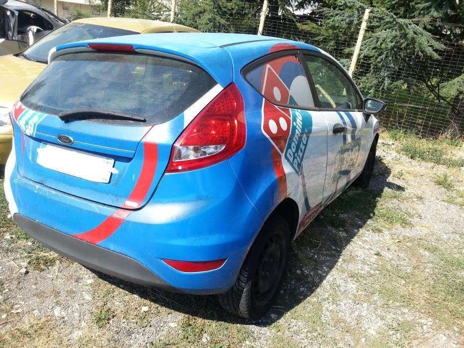 Форд Фиеста 6 / Ford Fiesta 6 - на части