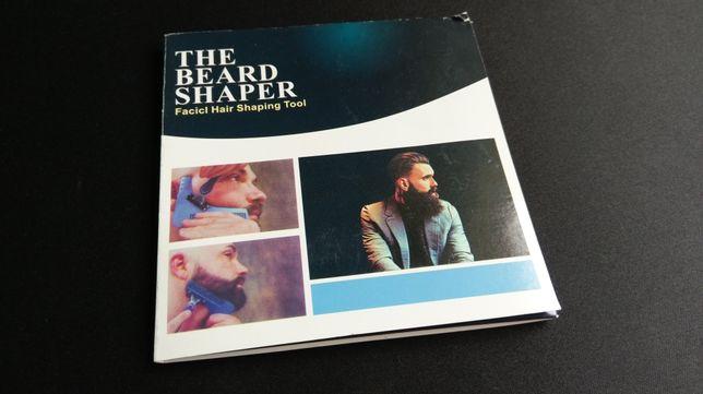 Pieptene pentru conturarea barbii Beard Shaper