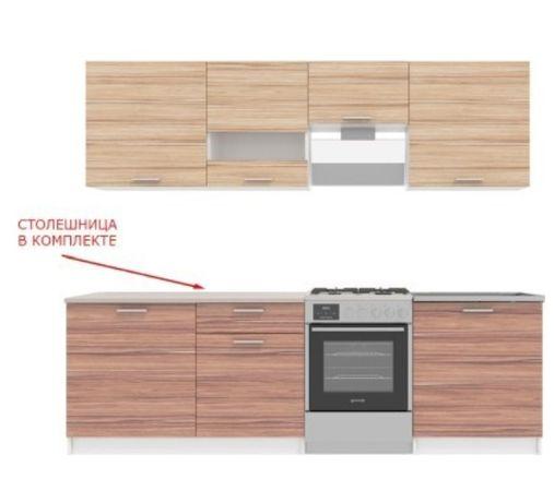 Стенка, кухонный гарнитур, телевизор
