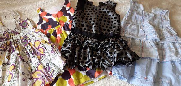 Официални оригинални роклички Next, Marks and Spencer и др.-116-122