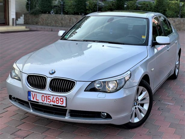 BMW 525d 177CP 2006 Automat - Navi mare - Trapa - Xenon - Piele - HiFi