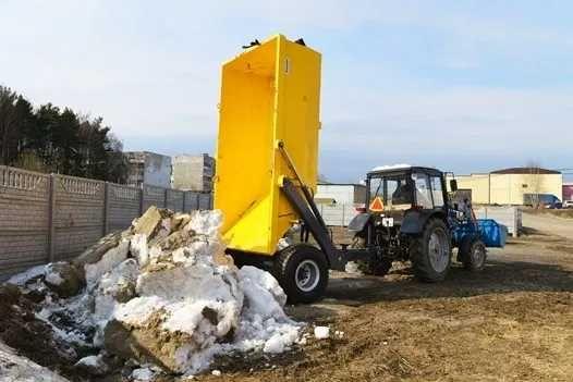 Полуприцеп тракторный самосвальный ПГС-7 (Гермитичный кузов)