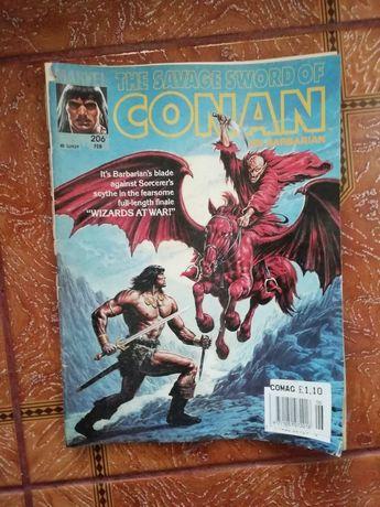 Vând bandă desenată Marvel Conan barbarul