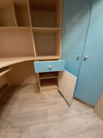 Кровать детский  с шкафом
