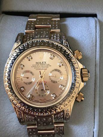 Часы Rolex .золото бриллианты
