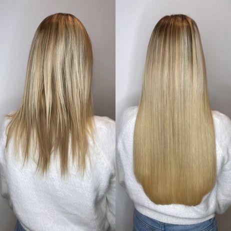 Наращивание волос по акции + ламинация ресниц в подарок!