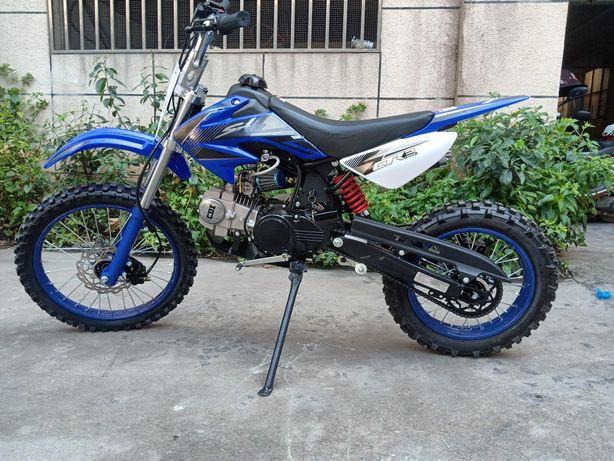 "Motociclete MotoCross 125 cc 14/17"" rotile Noi cu Factura si garantie"
