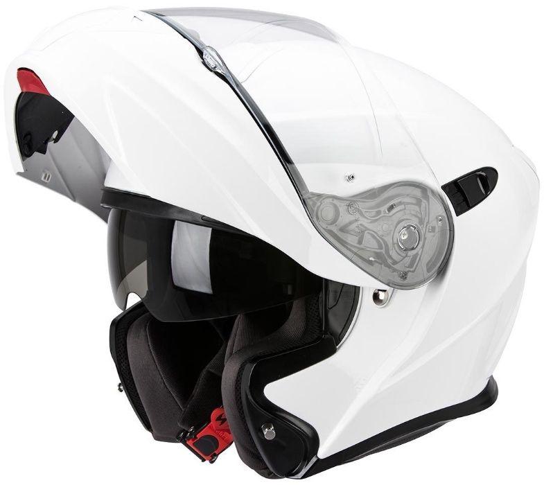 Casca modulara Scorpion Exo 920 Air Solid White - XXL Bucuresti - imagine 1