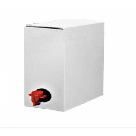 Cutie bag in box 5 litri carton albit
