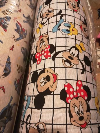 платове памучно трико сингъл