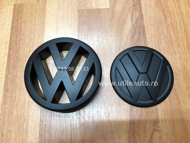 Emblema Capota Neagra Negru mat Radiator Hayon Volkswagen Golf 5 V Gti