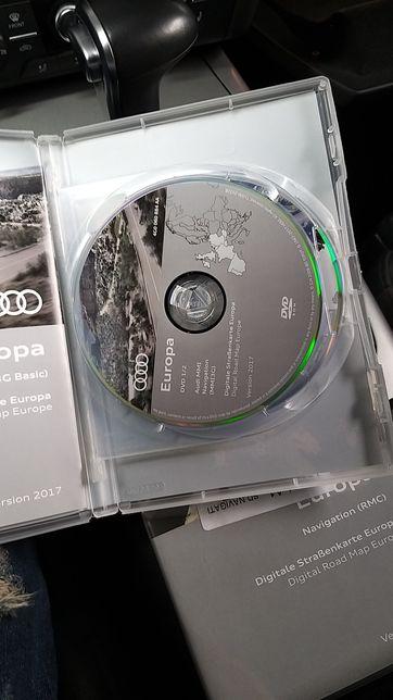 DVD navigatie Europa audi NOU