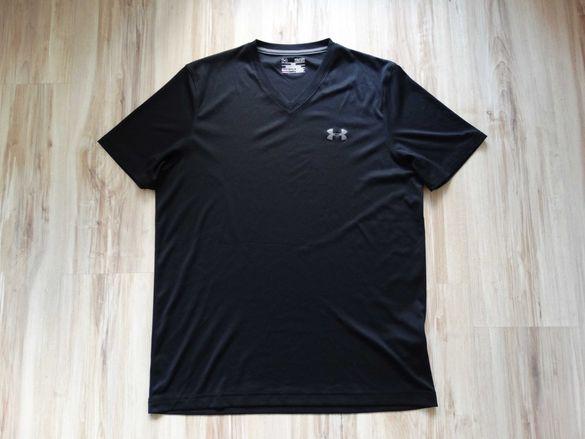 Under Armour Heat Gear Loose мъжка черна тениска размер М