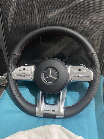 Volan Mercedes AMG Clasa A B C E G CLS GLE / Padele
