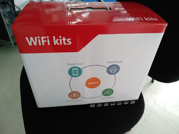 Продавам Wi-fi сет за видеонаблюдение