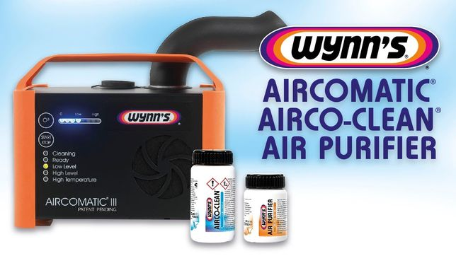 Igienizare, curatare clima auto Wynns