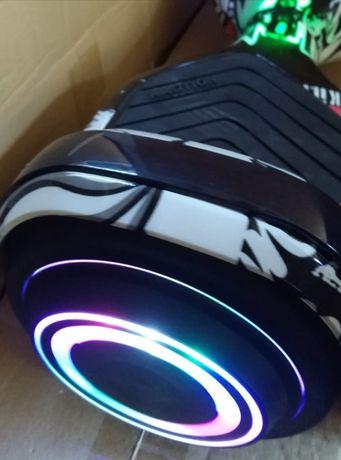 Hoverboard nou negru led