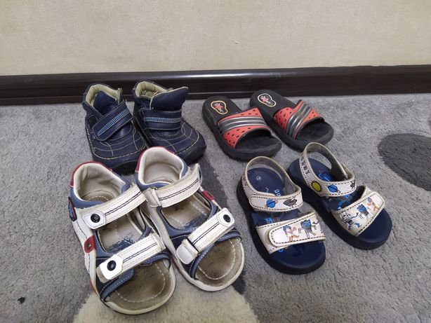 21-23-25 Детские сандалии, сланцы, ботинки, обувь бесплатно