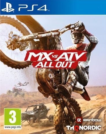 MX vs ATV - All Out/ PS4 / Игра / Нова /Playstation4