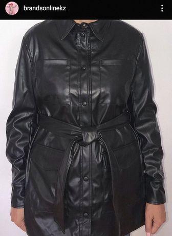 Кожанная куртка из эко кожи