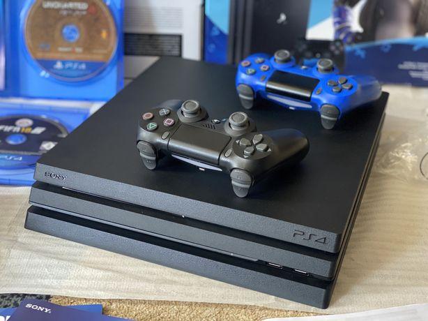 Новый Playstation 4 PRO (1TB) совершенно новая приставка , Sony ps   !