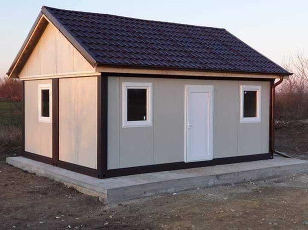 Construim case si garaje din structura metalica si panou sandwich