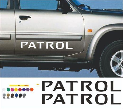 Patrol стикер nissan off road 4x4