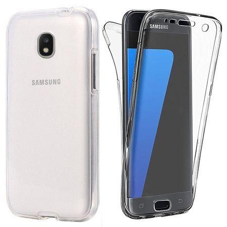 Capac de protectie Full TPU 360° (fata + spate) pt Samsung Galaxy J3