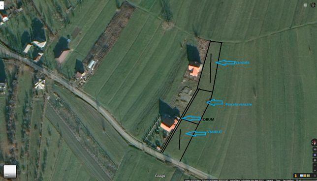 Vand teren intravilan,zona linistita, Chechis, 13 km Baia Mare.