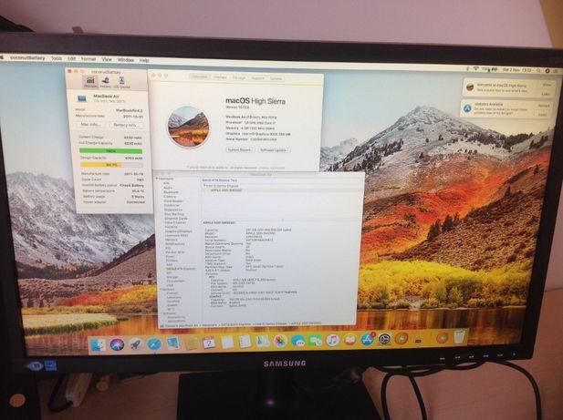 Macbook Air A1369 mid 2011 i7, 4GB, SSD 256 -Dezmembrez