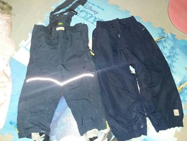 pantaloni 2 ani 92 cm salopeta combinezon