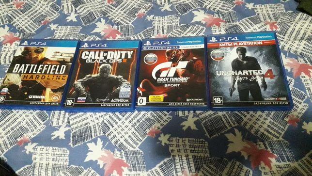 Продам диски на PS4 или обмен