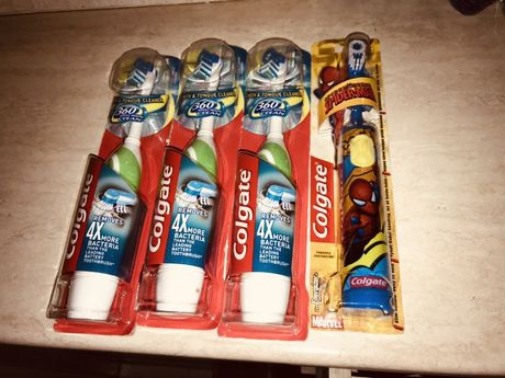 Periuțe Electrice Colgate Whole Mouth Clean 360 grade Noi