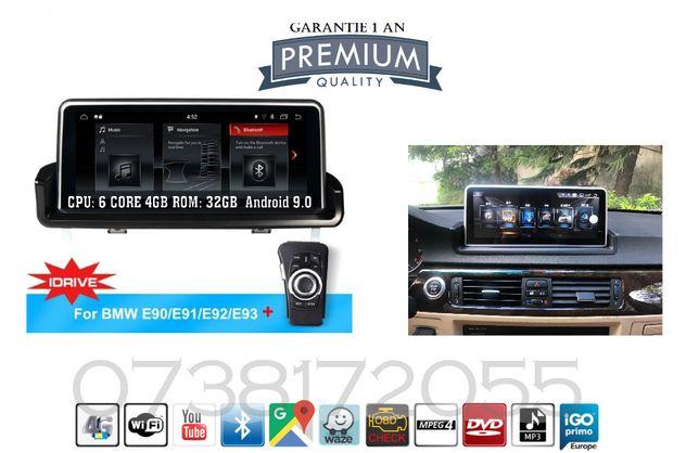 Navigatie Android BMW Seria3 E90 E91 E92 E93 GPS Slot sim 4G internet