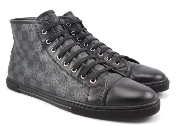 LOUIS VUITTON ,Damier High Top men sneakers !!
