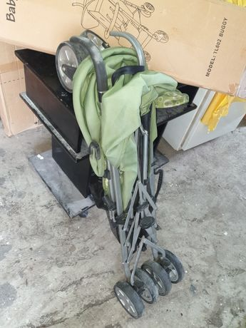 Cărucior copii BabyCare pliabil ,portabil, ușor, verde