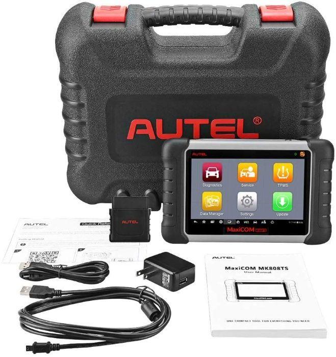 Autel maxicom mk808ts - професионална авто диагностика със софтуер