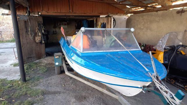 Лодка Крым+мотор Yamaha 55