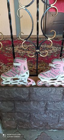 Продам роликовые коньки для девочек